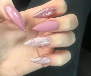 manicure, design, and nail art image