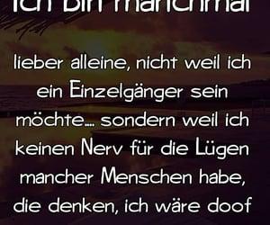 text, allein, and deutsch image