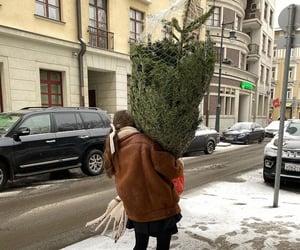 christmas, girl, and aesthetic image