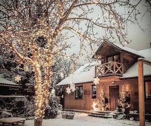 christmas lights, warsaw, and christmas image