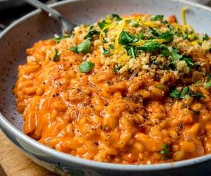 cheese, italian food, and crispy garlic image