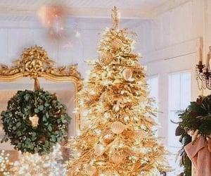 Christmas time, christmas tree, and december image