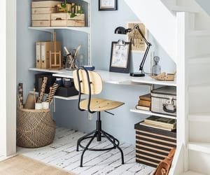 home decor, home interior, and working space image