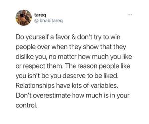 be yourself, control, and dislike image