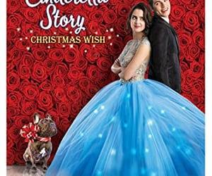 dress, a cinderella story, and christmas image