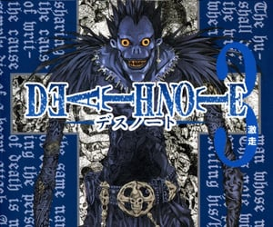 anime, cover, and death note image