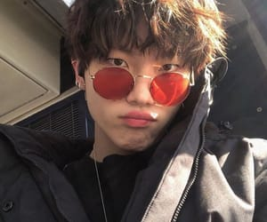 boy, glasses, and sun image