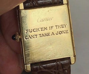 quotes, cartier, and watch image