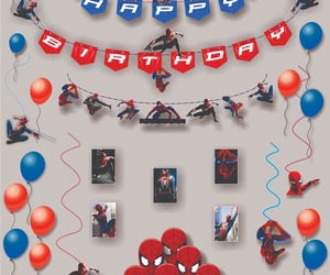 birthday party supplies, party parcel, and theme party pack image