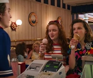 discover, stranger things, and sadie sink image