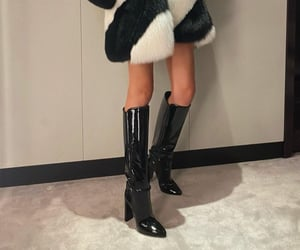 aesthetic, boots, and chic image