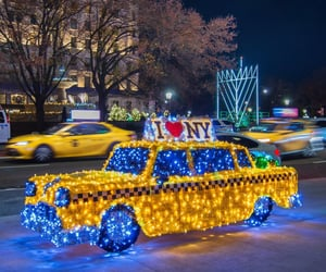 beautiful, blue yellow, and cars image