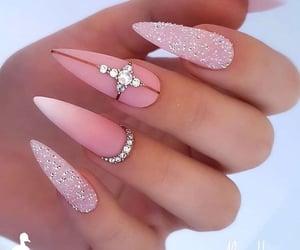 long nails, unhas, and acrylic nails image
