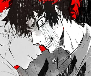 manga, devilman, and anime art image