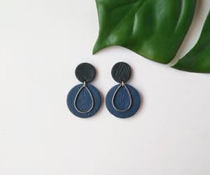 earrings, jewelry, and polymer clay image