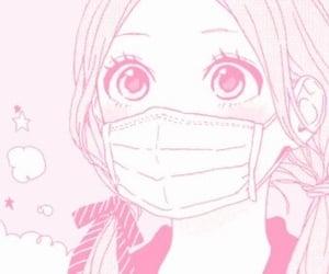 manga, anime, and pink image