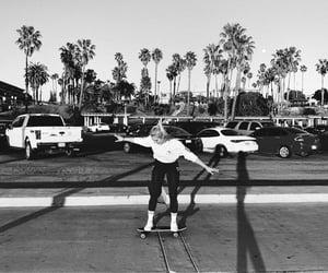 blackwhite, girl, and photography image