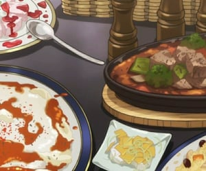 anime, food, and hunter x hunter image
