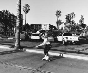 balance, beach, and california image