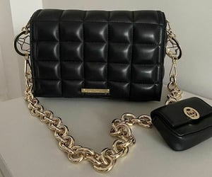 bag, black, and fendi image