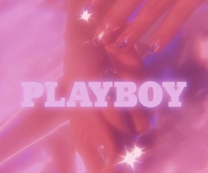 pink, Playboy, and wallpaper image