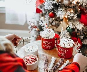 christmas, candy, and christmas tree image
