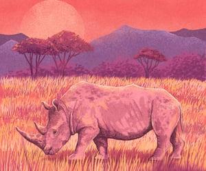animal, pink, and animals image