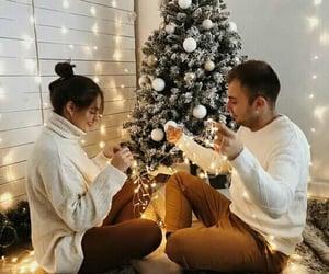 amor, christmas eve, and romances image