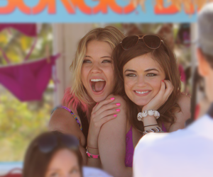 girl, friends, and lucy hale image