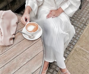 coffee, outfit, and style image