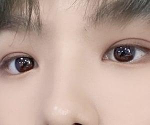 bubble tea, cute eyes, and eyes image