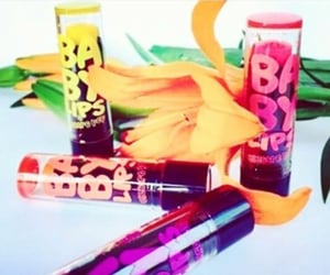 make up, Maybelline, and baby lips image