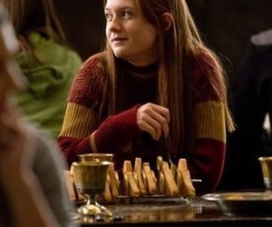 harry potter, ginny weasley, and gryffindor image