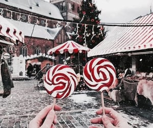 christmas, lolly, and snow image