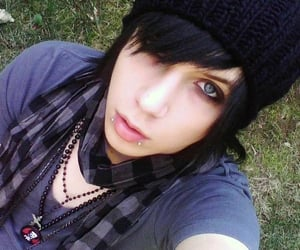 music, rock, and andy sixx image