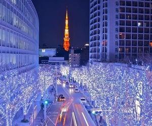 aesthetic, christmas lights, and festive image