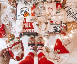 christmas, coffee, and enjoy image