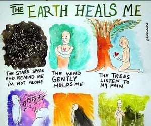 earth, healing, and mental image