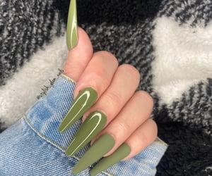 nails, coffin nails, and press on nails image