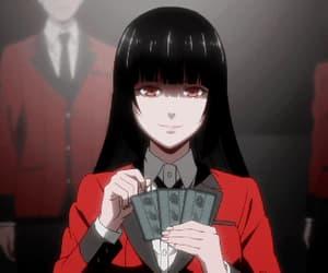 anime, yumeko, and jabami image