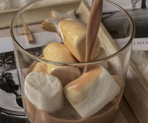 coffee, marshmallow, and aesthetic image