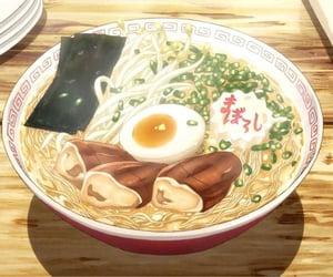 anime, food, and ramen image
