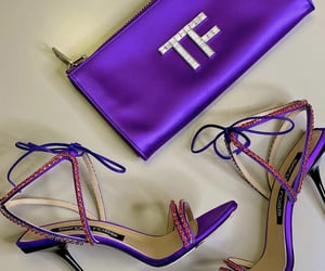 bags, fashion, and heels image