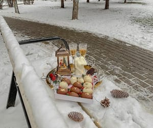 christmas, drink, and food image