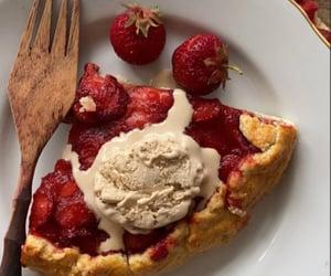 aesthetics, baking, and blueberries image