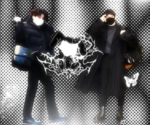 catboy, kpop edits, and goth aesthetic image