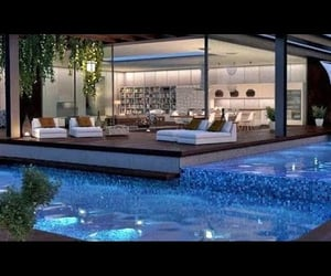 swimming pool, video, and interior design ideas image