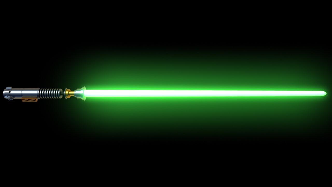 force, lightsaber, and star wars image