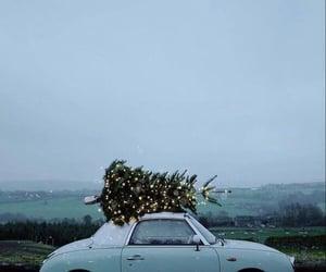 christmas, winter, and car image