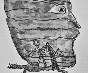 egypt, illustration, and Painter image